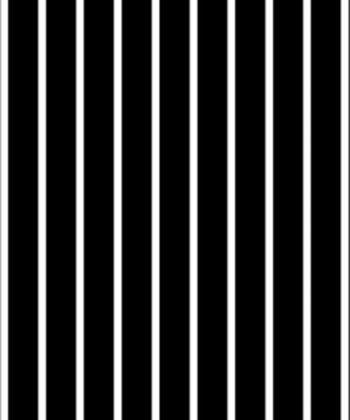 tapet White and Black Stripes