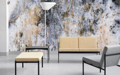 Idei de design pentru un stil nonconformist: tapet abstract