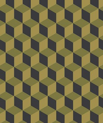 tapet 3d black and yellow