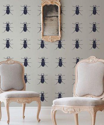 tapet white bugs