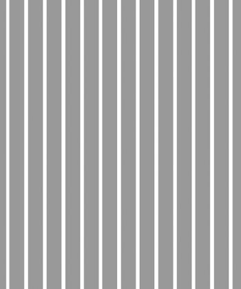 tapet design interior Gray and White Stripes
