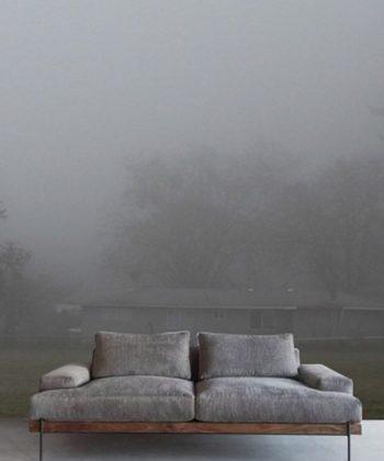 tapet Foggy Garden