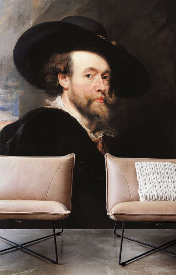 tapet living paul rubens