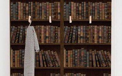 Tendințe amenajări interioare: Tapet biblioteca pentru amenajarea biroului