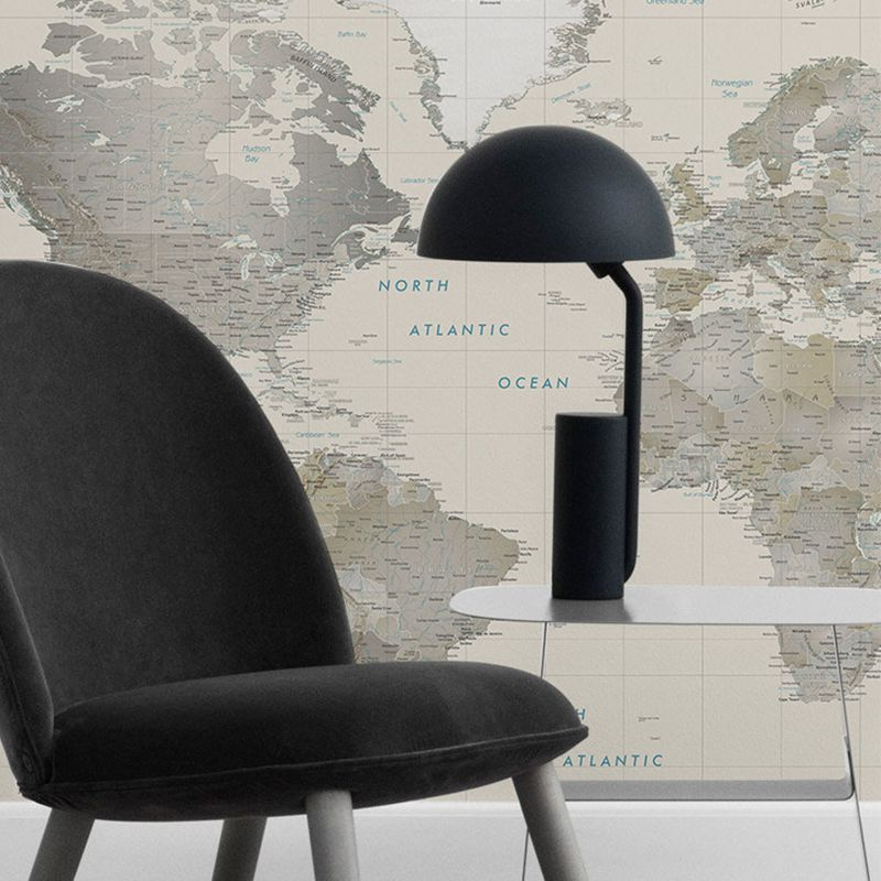 tapet harta lumii aedesign