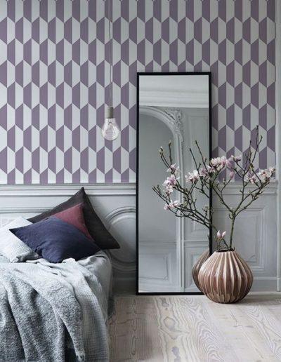 tapet-personalizat-dormitor-forme-geometrice 1 design interior