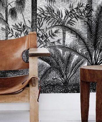 tapet Gray Amazon design interior