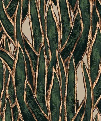Tapet personalizat frunze