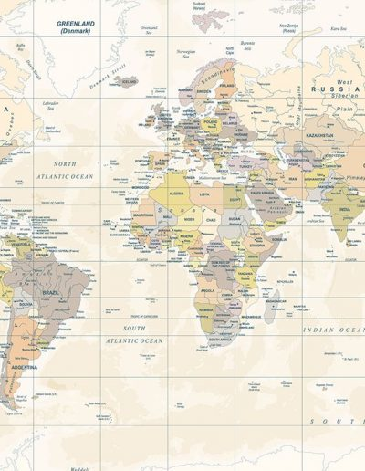 tapet Classic map