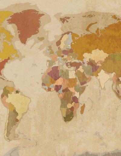 fototapet hartă Vintage map6_compressed