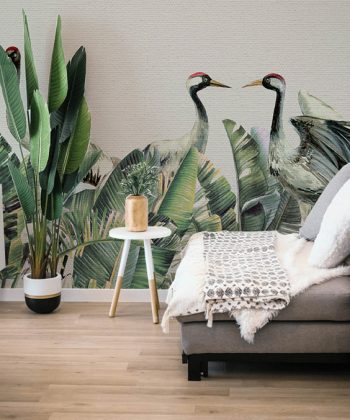 Winged LEAVES - TAPET living room