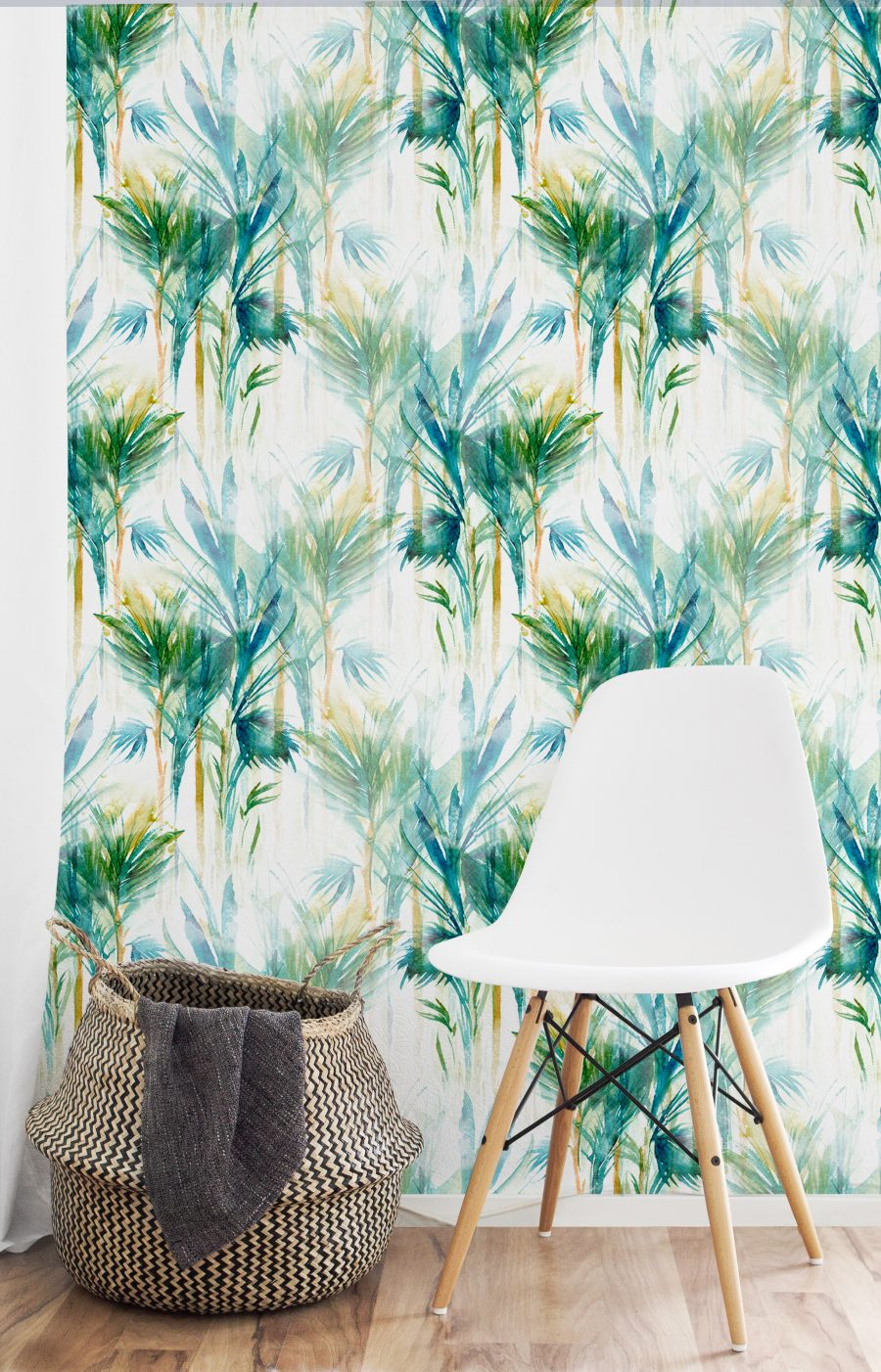 tapet hol Abstract Palms